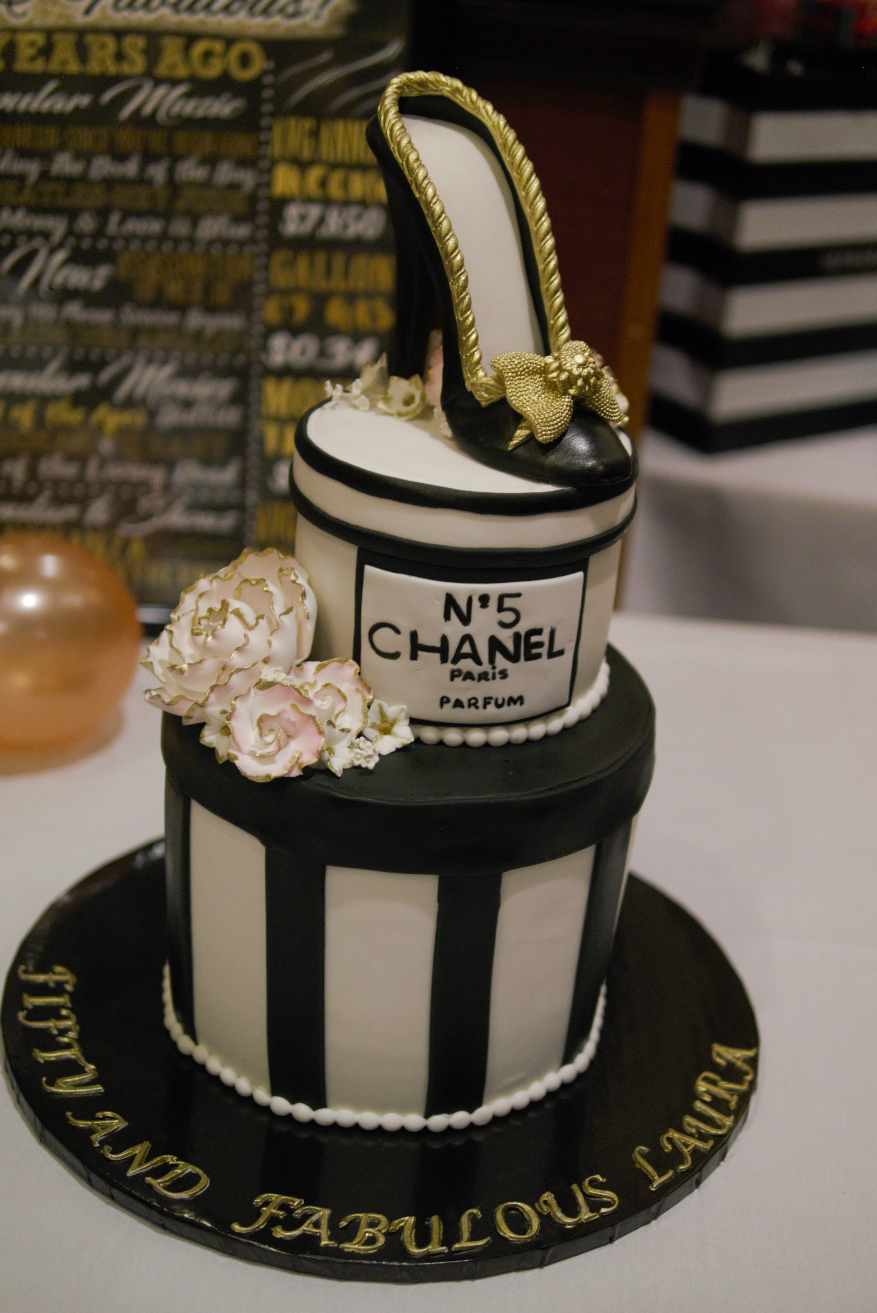 The Classy Birthday Cake
